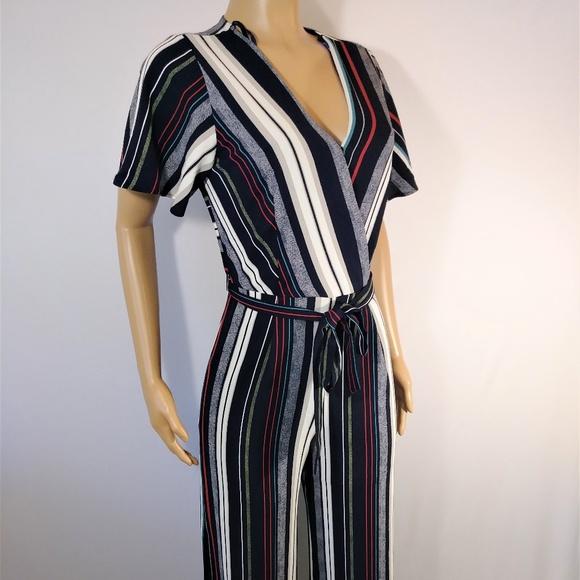 c1c88f960cb5 Monteau striped Jumpsuit